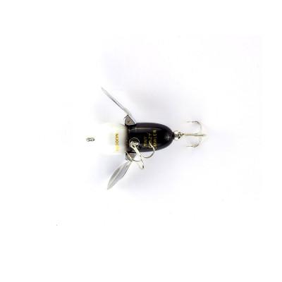 Heddon Tiny Crazy Crawler Black Hornet