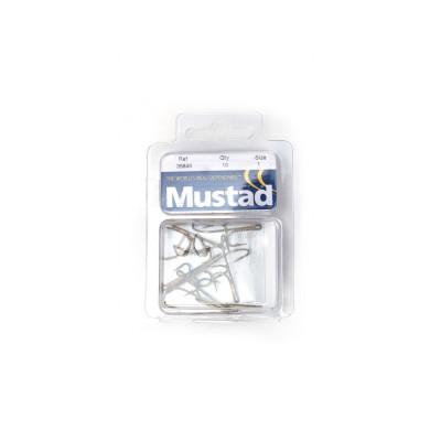 10 Mustad Ryder-Haken #1