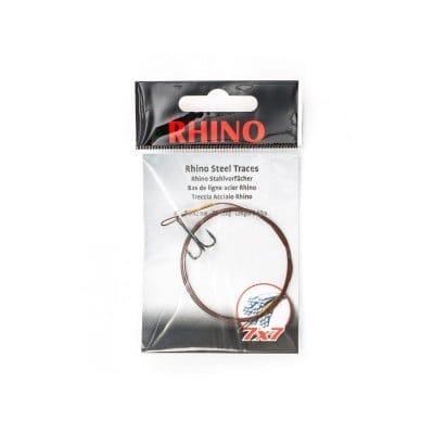 Nur noch 1 Stück lagernd: Rhino 7x7 Stahlvorfach #5