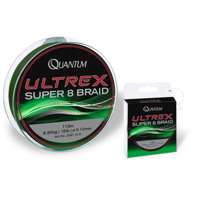 Nur noch 1 Stück lagernd: Quantum Ultrex Super 8 Braid Grün